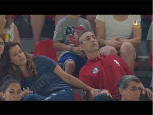 Aly Raisman's nervous parents