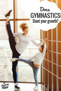 does gymnastics stunt your growth?