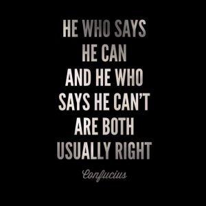mindset quote confucius