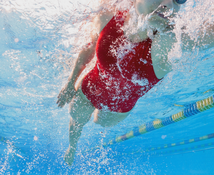 Why your competitive swimmer isn't dropping time