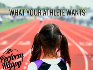 what your athlete wants