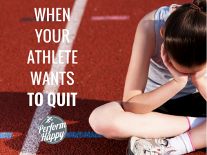 athlete wants to quit