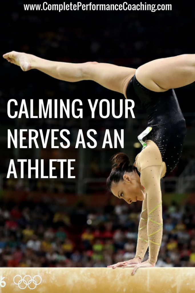 Calming Your Nerves as an Athlete