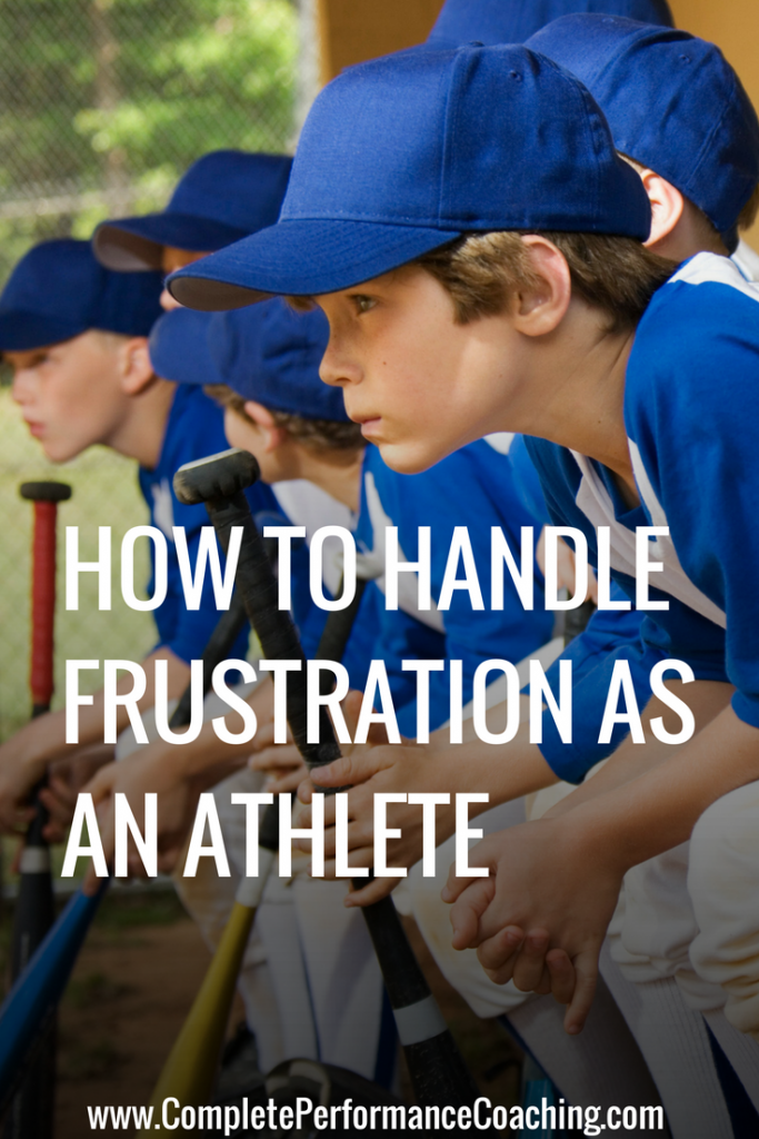 How to Handle Frustration as an Athlete