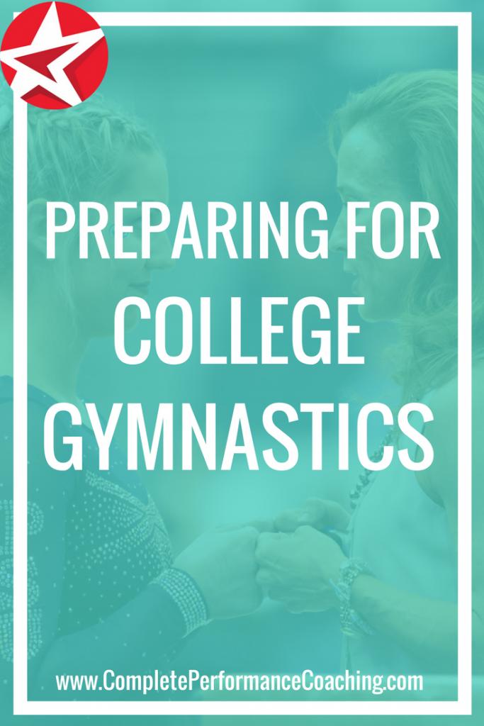Preparing for College Gymnastics