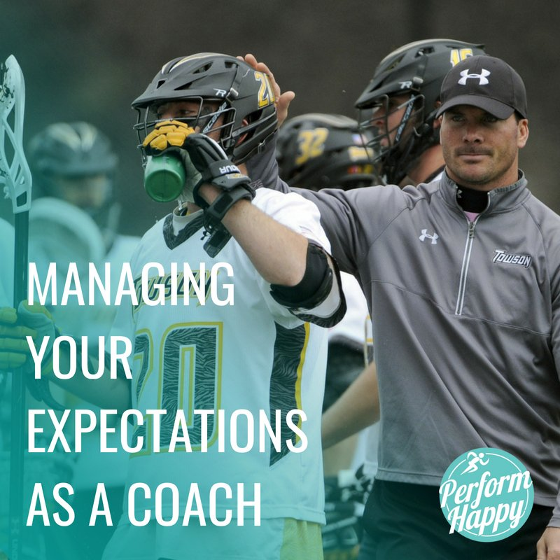 Managing Your Expectations as a Coach