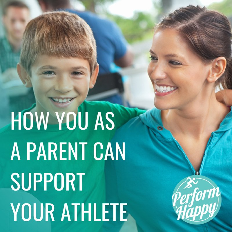 How you as a Parent can Support Your Athlete