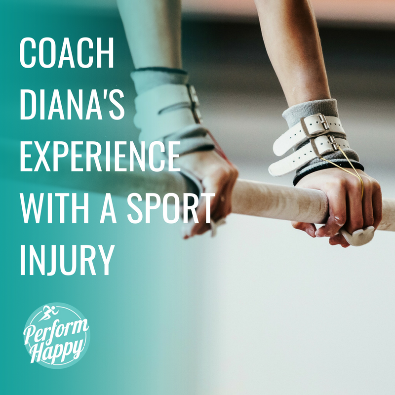 Coach Diana's Experience with a Sport Injury