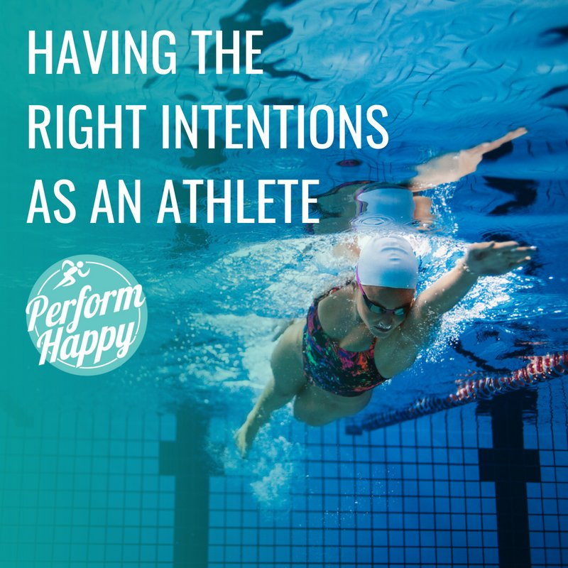 Having the Right Intentions as an Athlete