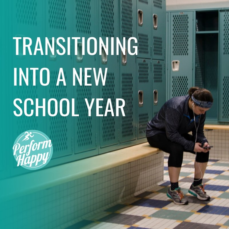 Transitioning into a New School Year