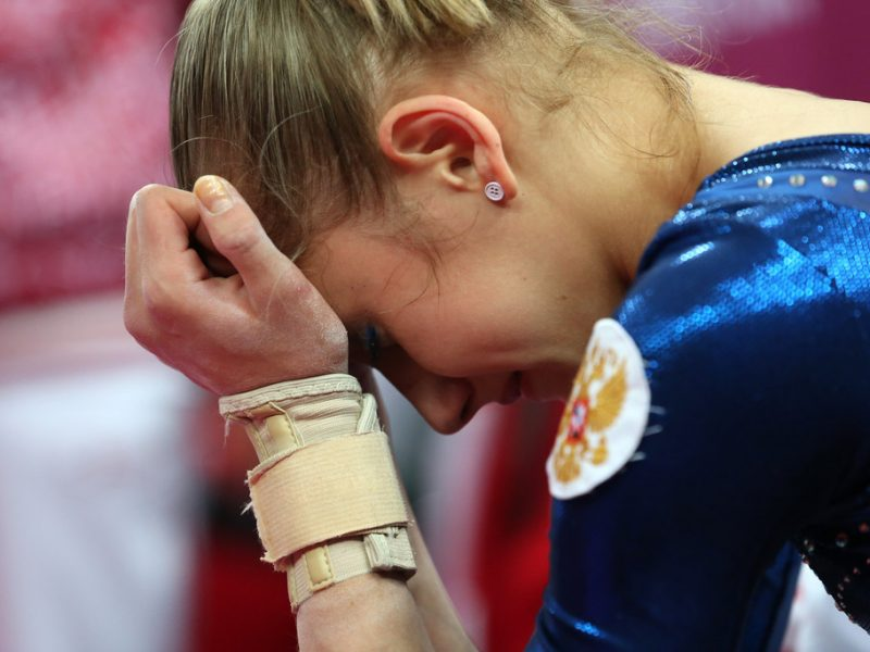 How to Stop the Tears at Competition