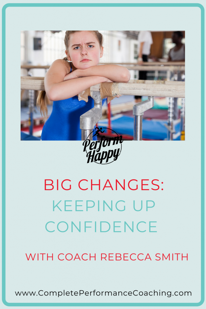 Keeping Up Confidence in Sport with Big Changes with Coach Rebecca Smith