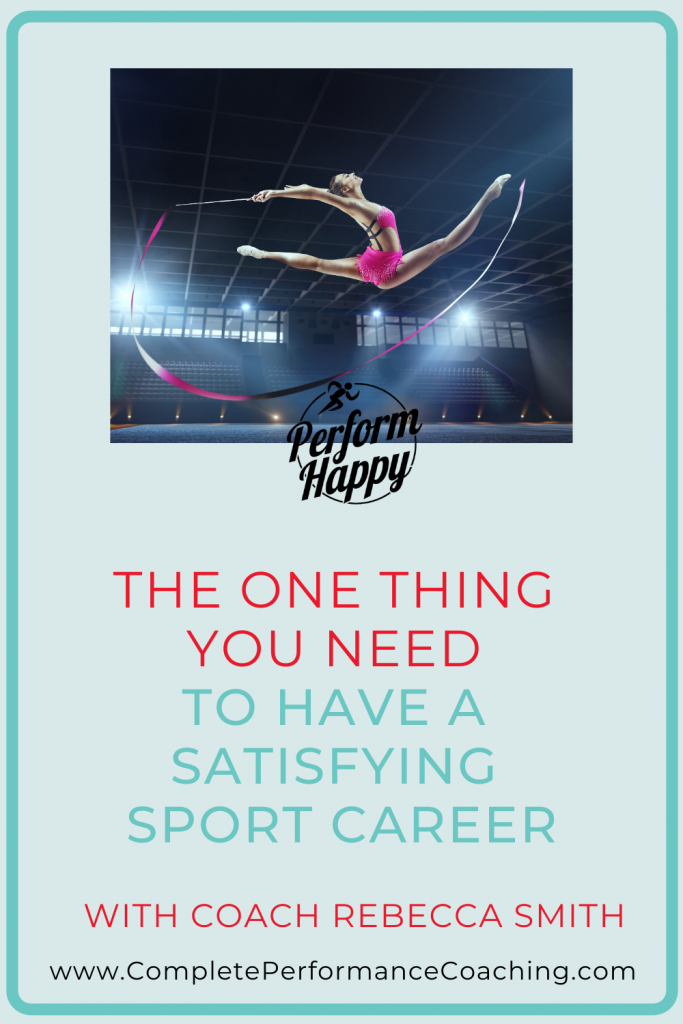 Grit - The One Thing You Need to Have a Satisfying Sport Career | Coach Rebecca Smith
