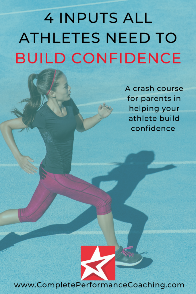 4 Inputs Athletes Need To Build Confidence