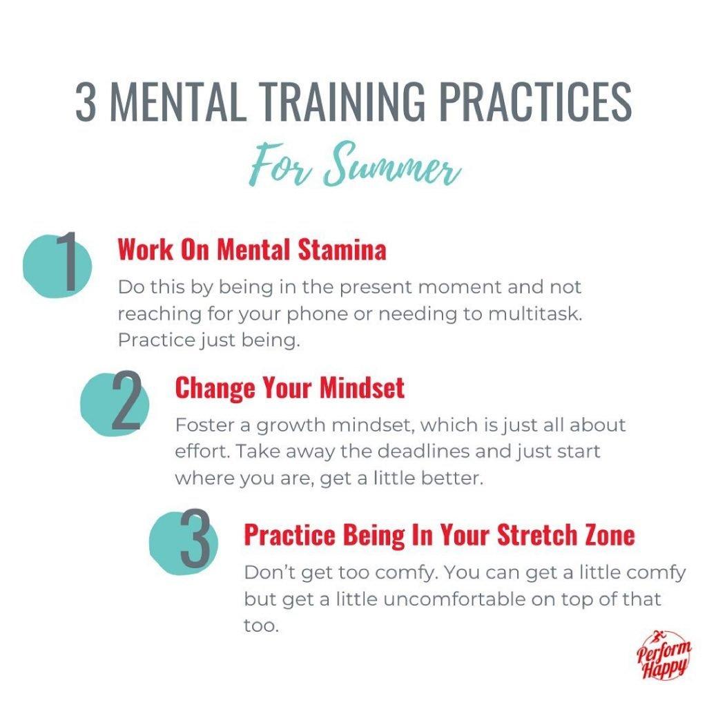 3 Mental Training Strategies for Summer