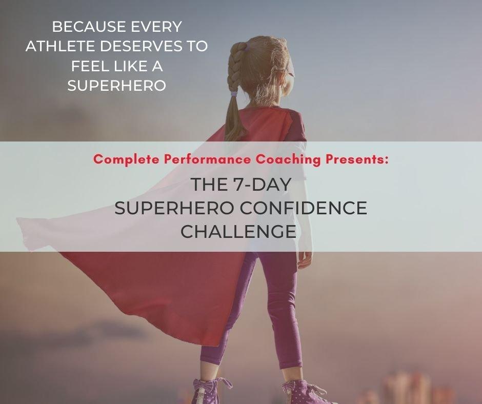 Superhero confidence challenge